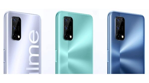 Realme V5 5G in colors