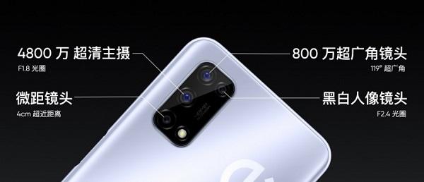 Realme V5 camera