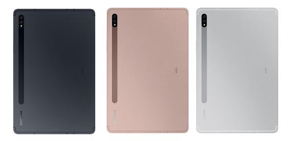 Samsung Galaxy Tab S7 in colors