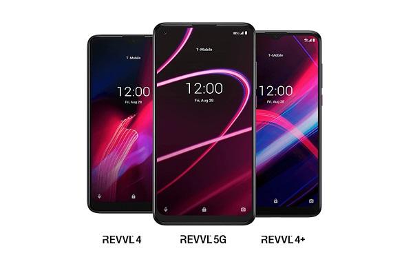 T-Mobile REVVL 5G, REVVL 4, REVVL 4+