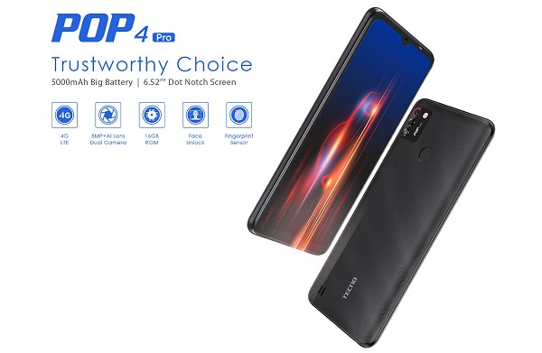 Tecno POP 4 Pro launched
