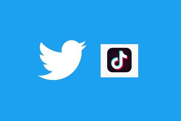 Twitter and TikTok