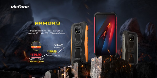 Ulefone Armor 8 launched