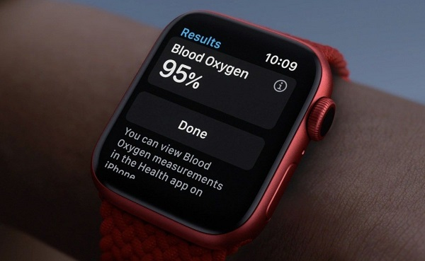 Apple Watch Series 6 in Product Red