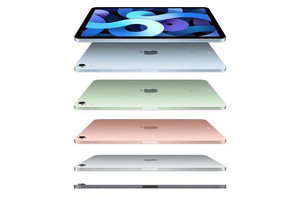 Apple iPad Air (2020) in colors