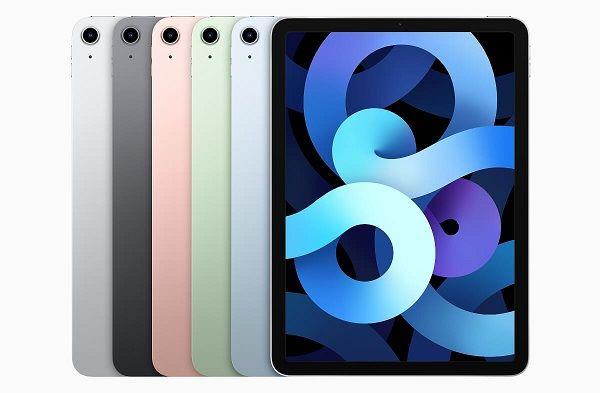 Apple iPad Air (2021) in colorsApple iPad Air (2020) in colors