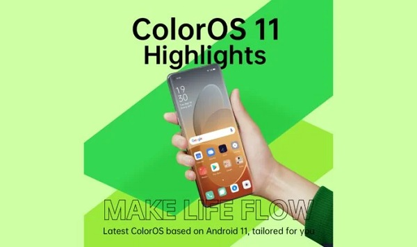 ColorOS 11 launched
