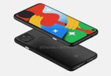 Google pixel 4a 5G leaks