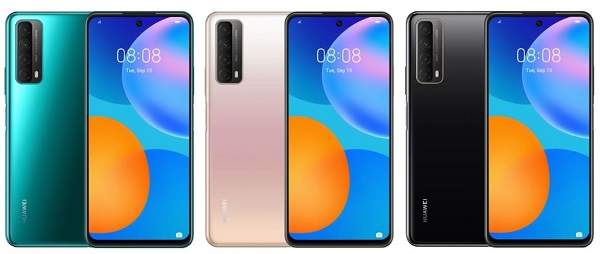 HUAWEI P smart 2021 in colors