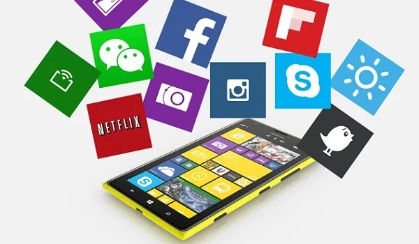 apps on a Windows phone