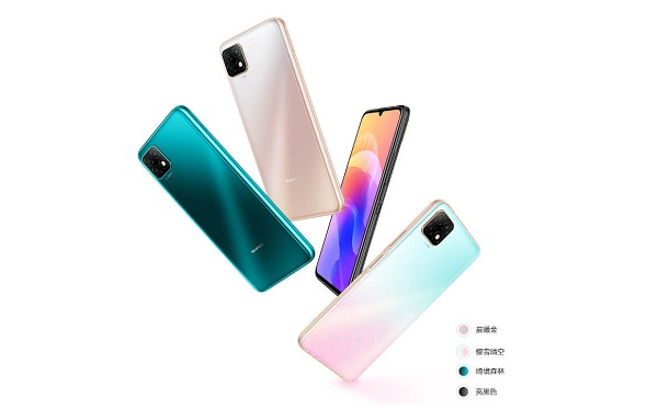 Huawei Enjoy 20 5G in colors