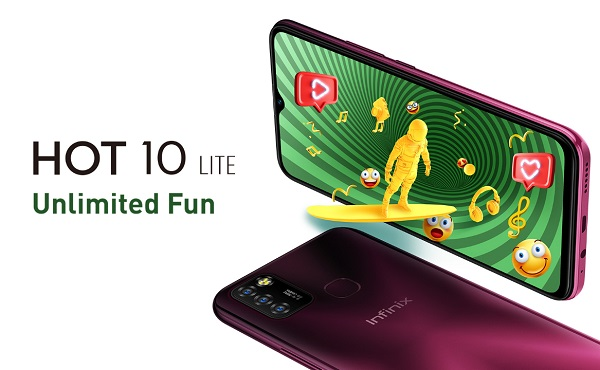 Infinix Hot 10 Lite Launched