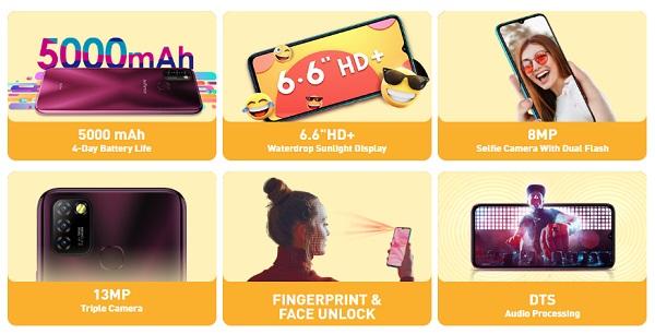 Infinix Hot 10 Lite Specs