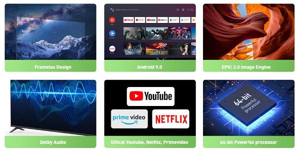 Infinix Smart TV specs