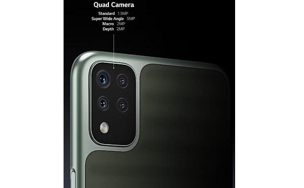 LG K42 rear camera