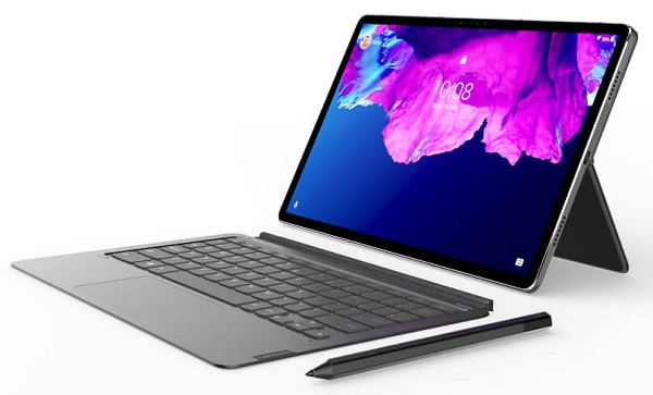 Lenovo Tab P11 Pro with keyboard and pen