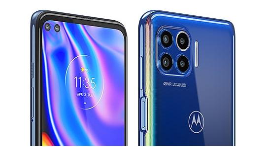 Motorola One 5G camera