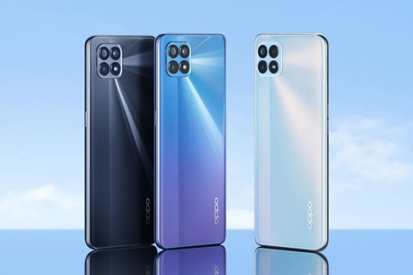 Oppo Reno4 SE in colors.