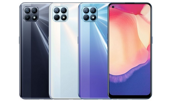 Oppo Reno4 SE in colors