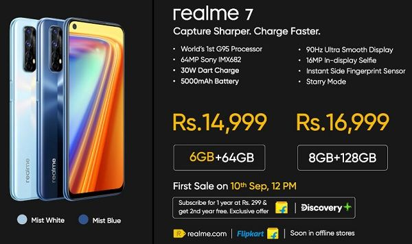 Realme 7 Price