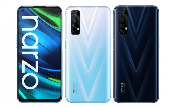 Realme Narzo 20 Pro in colors