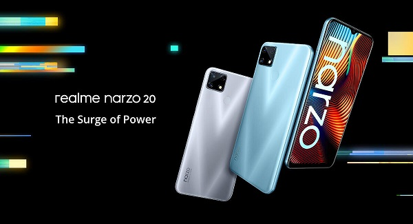 Realme Narzo 20 launched