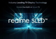 Realme launches Smart TV with SLED tecnology