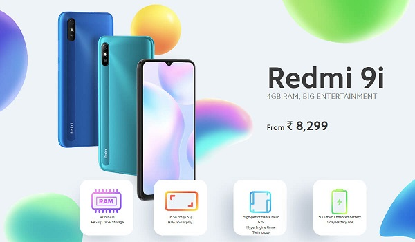 Redmi 9i launched