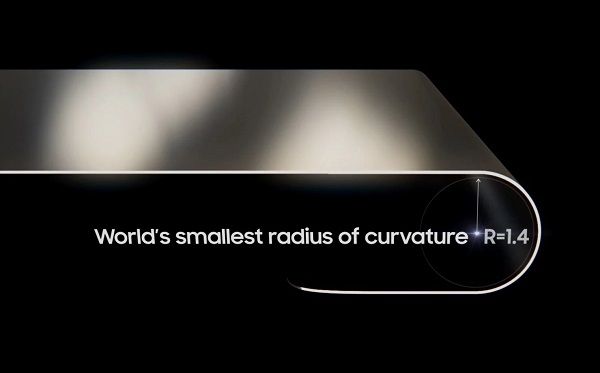 Samsung foldable OLED Launched