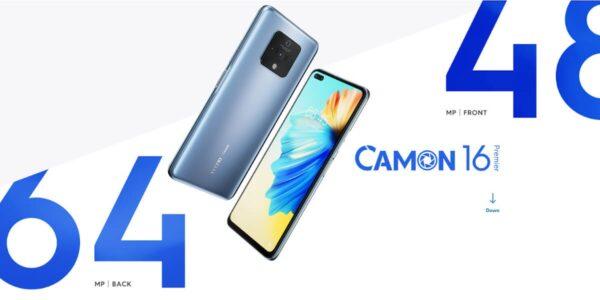 Tecno Camon 16 Premier launched