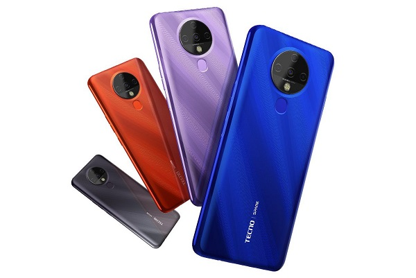Tecno Spark 6 in colors