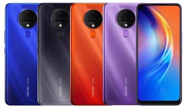 Tecno Spark 6 in colors