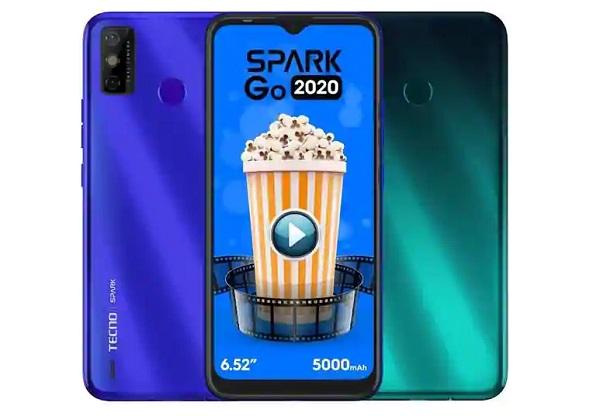 Tecno Spark Go 2020 in colors