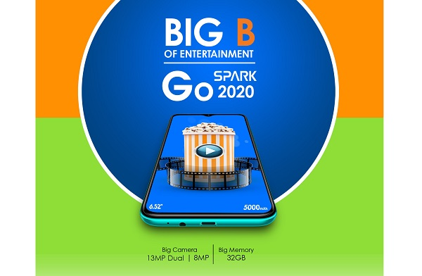 Tecno Spark Go 2020 launched