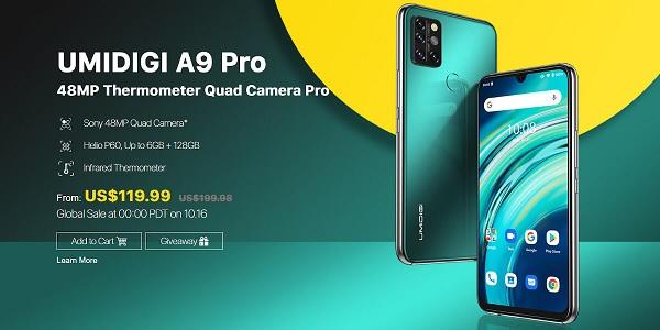 UMIDIGI A9 Pro Price