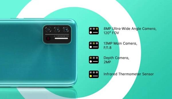Umidigi A7S Camera details