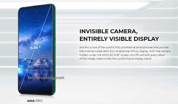 Vsmart Aris Pro launched with invisible camera