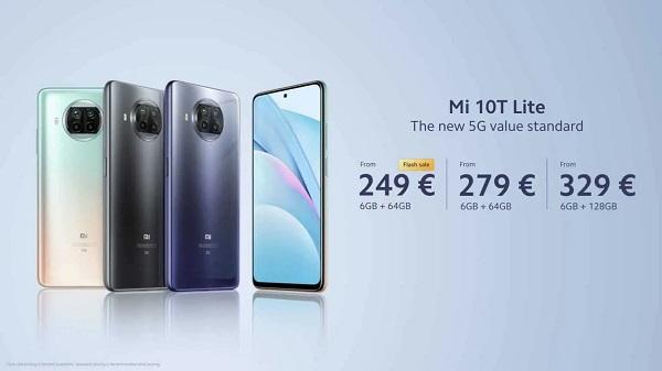 Xiaomi Mi 10T Lite Price