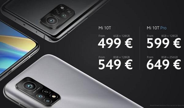 Xiaomi Mi 10T Pro Pricing