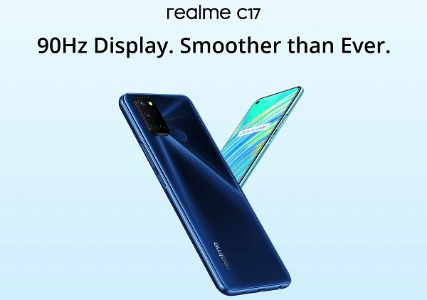 realme c17 launched