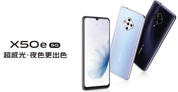 vivo X50e 5G launched