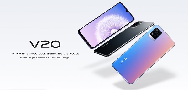 vivo v20 launched