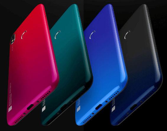 BLU G50 Plus in colors