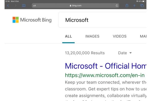 Bing Rebranded To Microsoft Bing