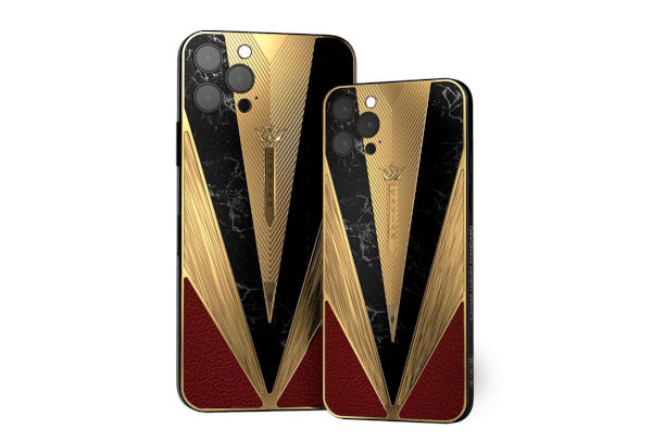 Caviar custom Warrior iPhone 12 Pro Pro Max Imperator with a piece of real ancient pilum