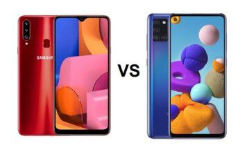 Galaxy A20s vs Galaxy A21s