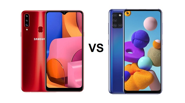 Samsung Galaxy A20s vs Samsung Galaxy A21s