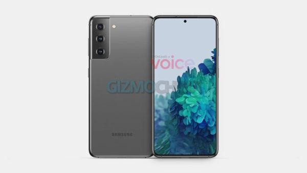Galaxy S21 renders appears online 2