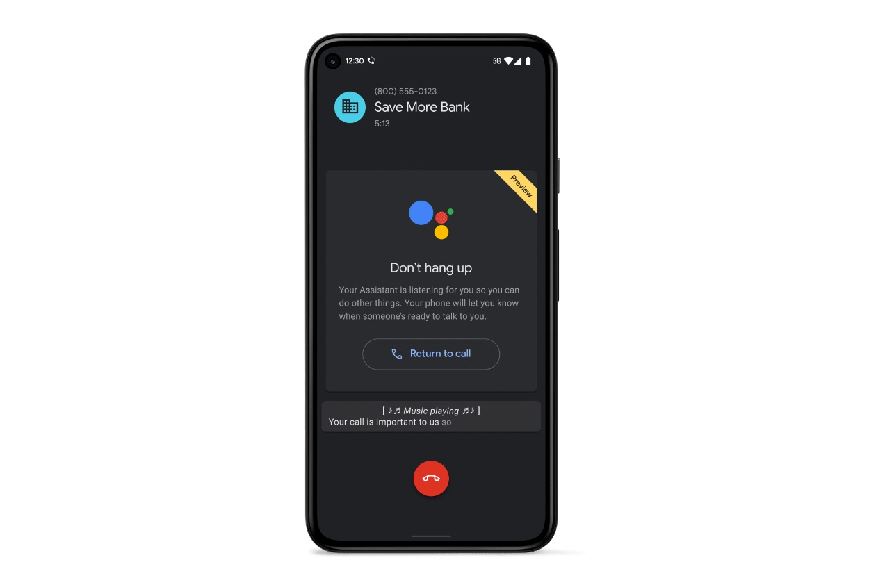Google Assistant Gets New Hold for Me feature