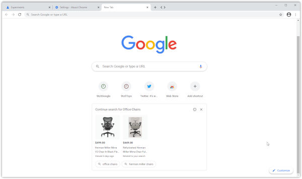 Google Chrome May Start Showing Ads On Homepage Soon